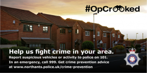 Easter crime prevention advice issued as part of Operation Crooked