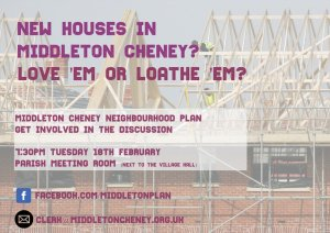 New Houses in Middleton Cheney? Love 'em or Loathe 'em?