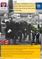 VE Day Stay At Home Street Party - Friday 8th May