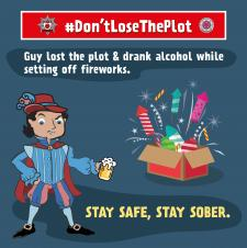 Don't Lose The Plot - firework and bonfire safety