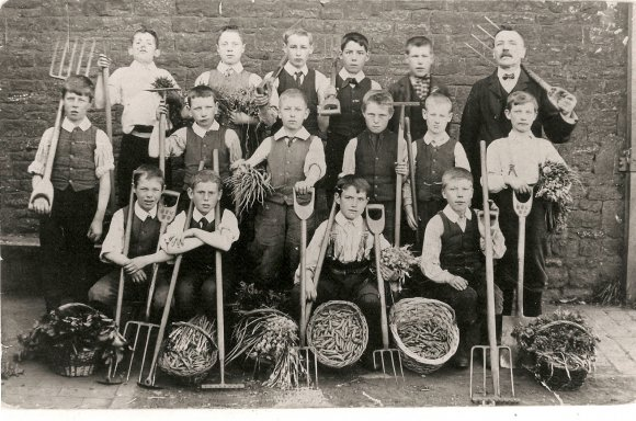 School Gardening Group - early 1900's