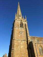 The All Saints roof repairs are now completed